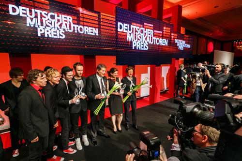 Deutscher Musikautorenpreis 2014, Foto: Thomas Rosenthal
